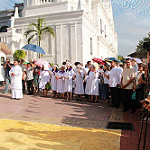 Blessing of Monstrance and Opening of the Holy Door