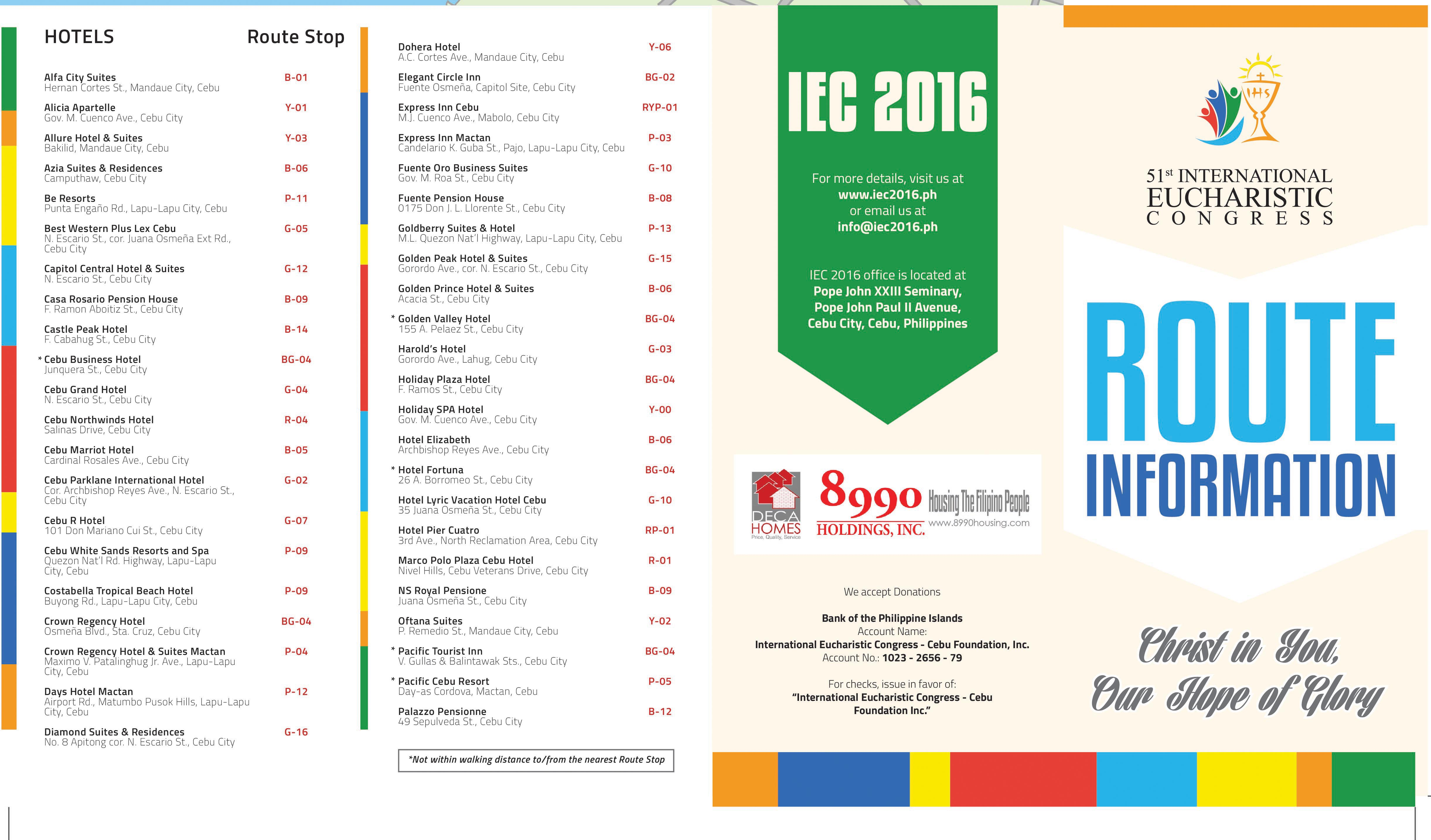 IEC-2016-Route-Information