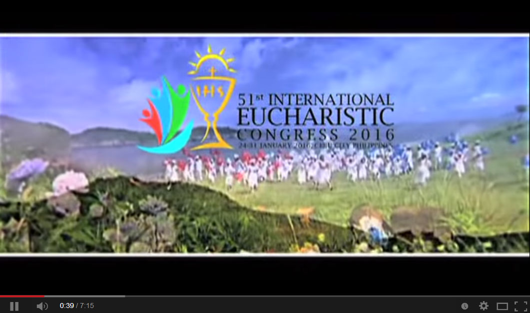 Eucharistic Congress Logo Eucharistic Congress 2016