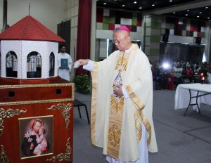 Archbishop of Cebu Rev. Jose Palma blesses IEC Symbol