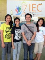 Student volunteers from the University of San Carlos