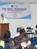 IEC Home Stay Seminar Workshop