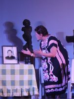 Stella Palomo Mondena as the parish priest's mother in Sa Imong Lawas ug Dugo
